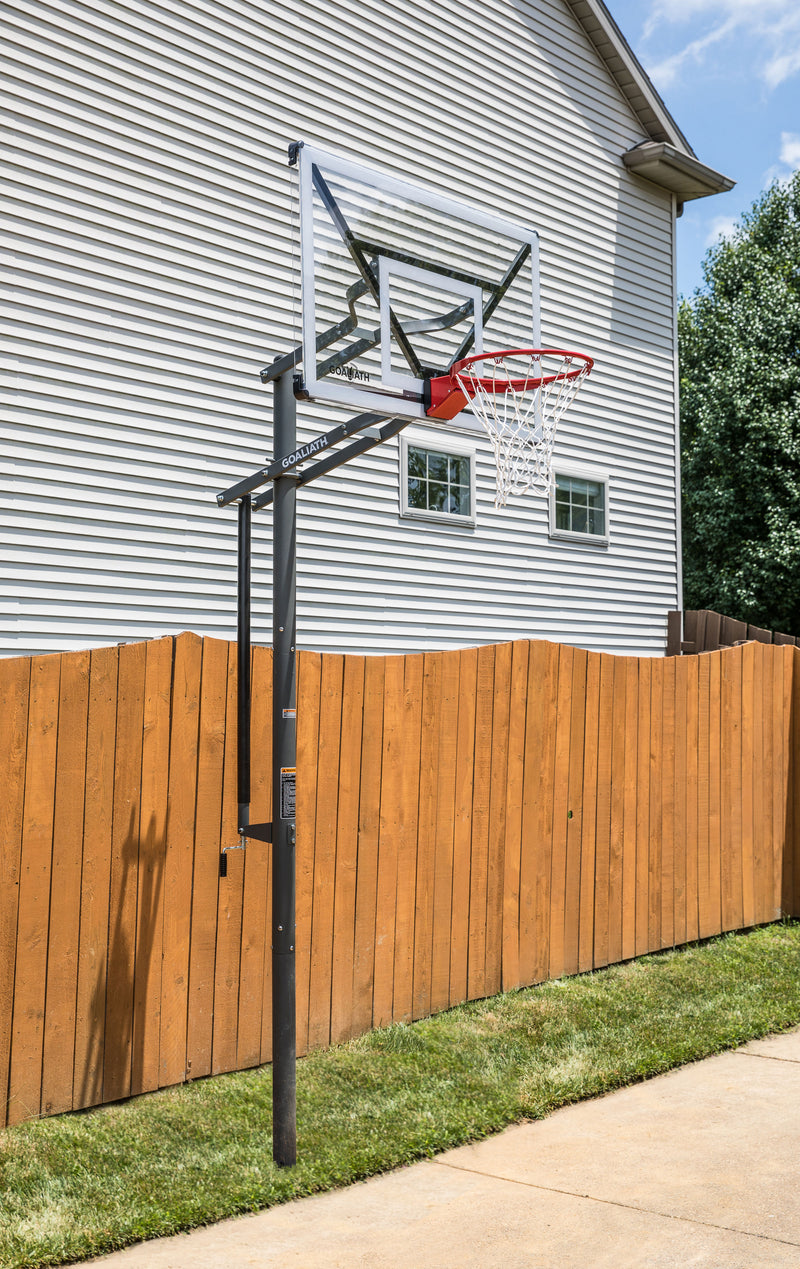 "Goaliath In Ground Basketball Hoop - 54"" GoTek_12"