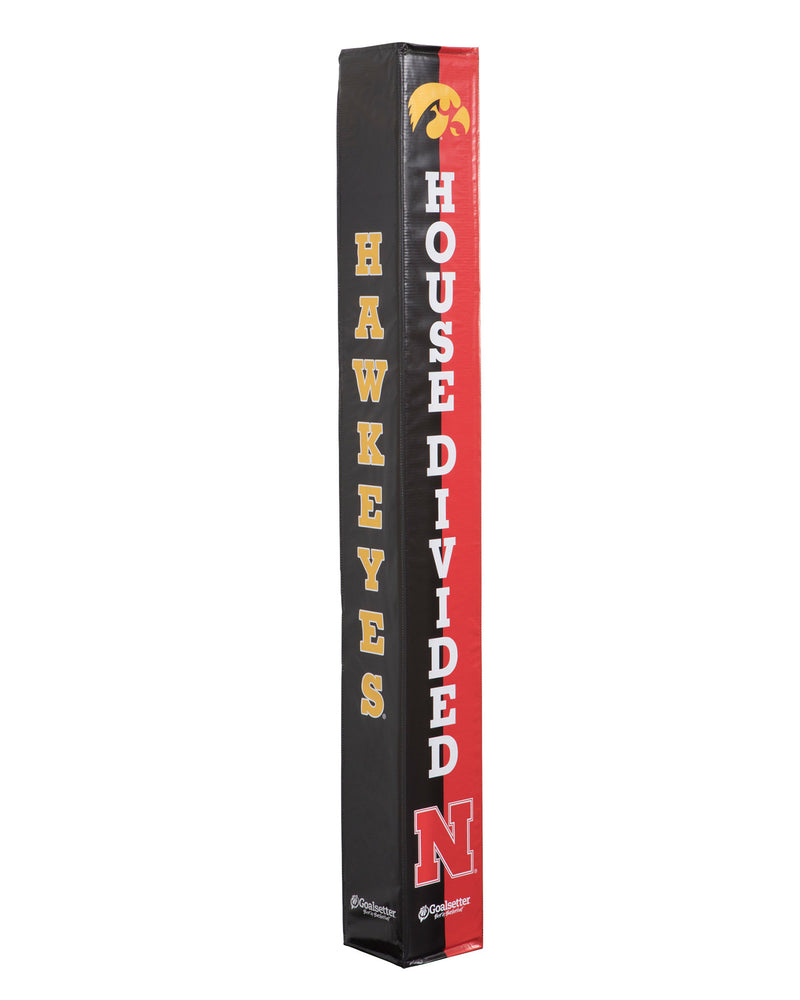 Goalsetter Collegiate Pole Pad - Iowa/Nebraska (Black/Red)_1