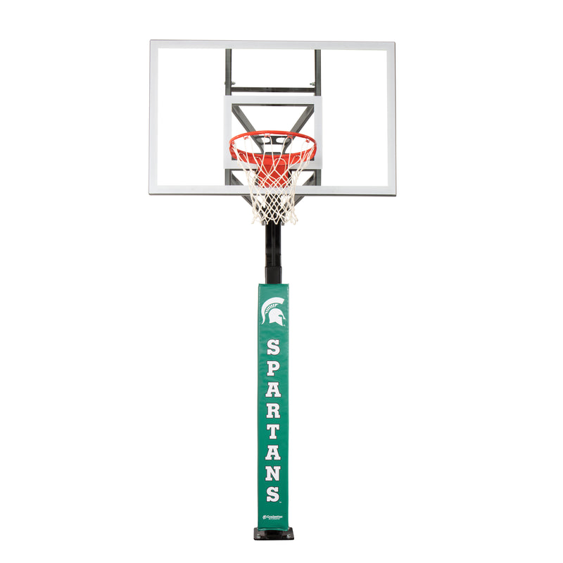 Goalsetter Collegiate Pole Pad - Michigan State Spartans (Green)_6