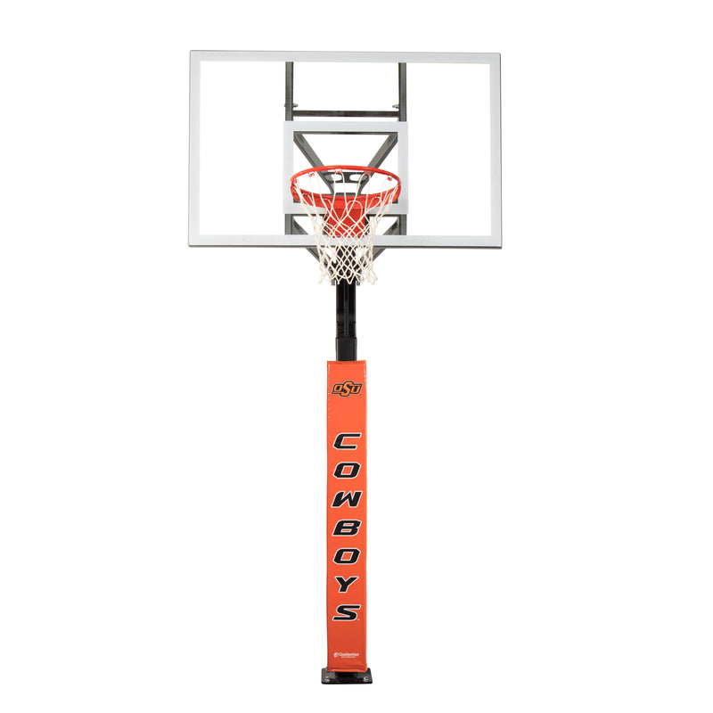 Goalsetter Collegiate Pole Pad - Oklahoma State Cowboys (Orange)_6