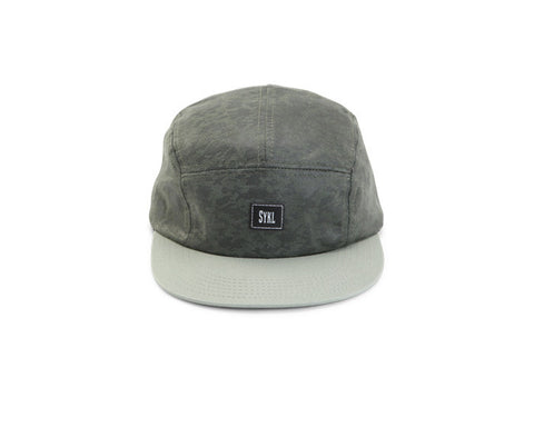 5 panel hat Symbiose Green Camo|Casquette 5 panel Symbiose Verte