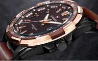 Naviforce Luxury Watch Coffee