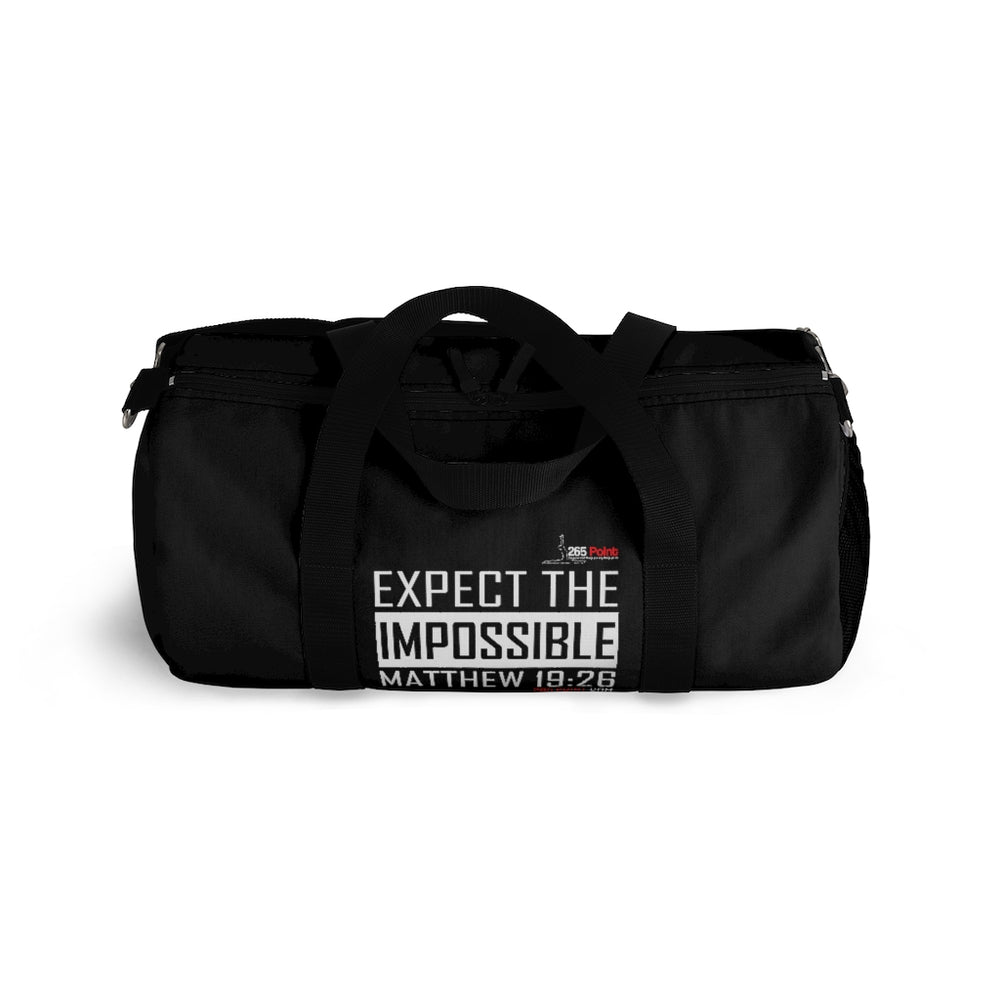 Expect the Impossible Duffel Bag