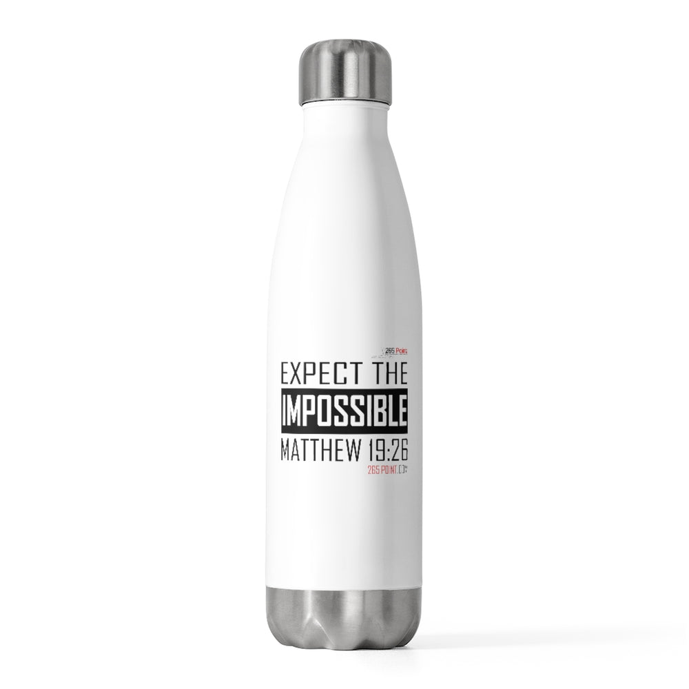 20oz Expect the Impossible Insulated Bottle