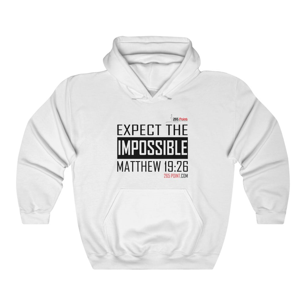 Expect the Impossible Hooded Sweatshirt - White