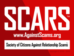 Society of Citizens Against Relationship Scams Inc. SCARS