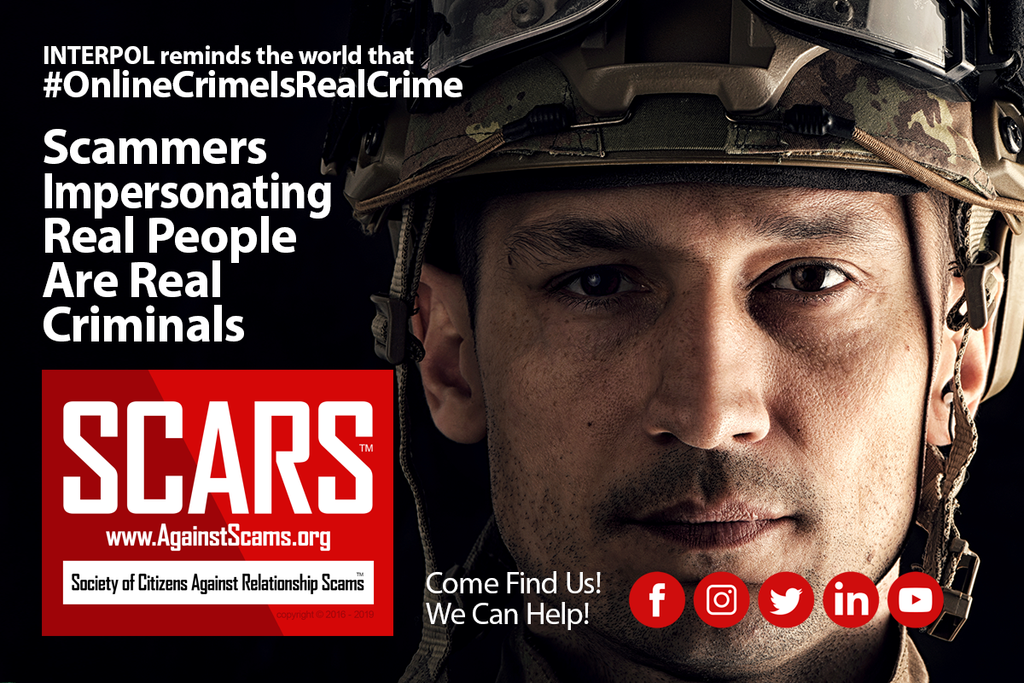 Online Crime Is Real Crime - visit SCARS to learn more!
