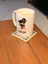 Load image into Gallery viewer, Anti-Scam Ninja™ - White Mug 15oz - SCARS Design - Worldwide Product