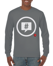 "Load image into Gallery viewer, ""Speak Up"" Classic Unisex (Women/Men) Long-sleeved T-shirt - SCARS Design - Worldwide Product"