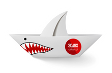 Load image into Gallery viewer, Scammer Shark - 15oz Mug with Color Inside - SCARS Design - Worldwide Product