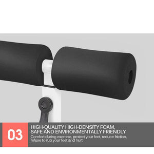 ABSLEAN - Abs & Core Trainer - Sit Up Bars Stehen Abdominal Core Assistant Muskeltraining Ab Rollers Fitness Gewichtsverlust - Fitnessgeräte - Blastiful