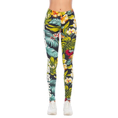 Zohra Sexy Women Legging Animal pattern Splicing Printing Fitness leggins Fashion Slim legins High Waist Leggings Woman Pants