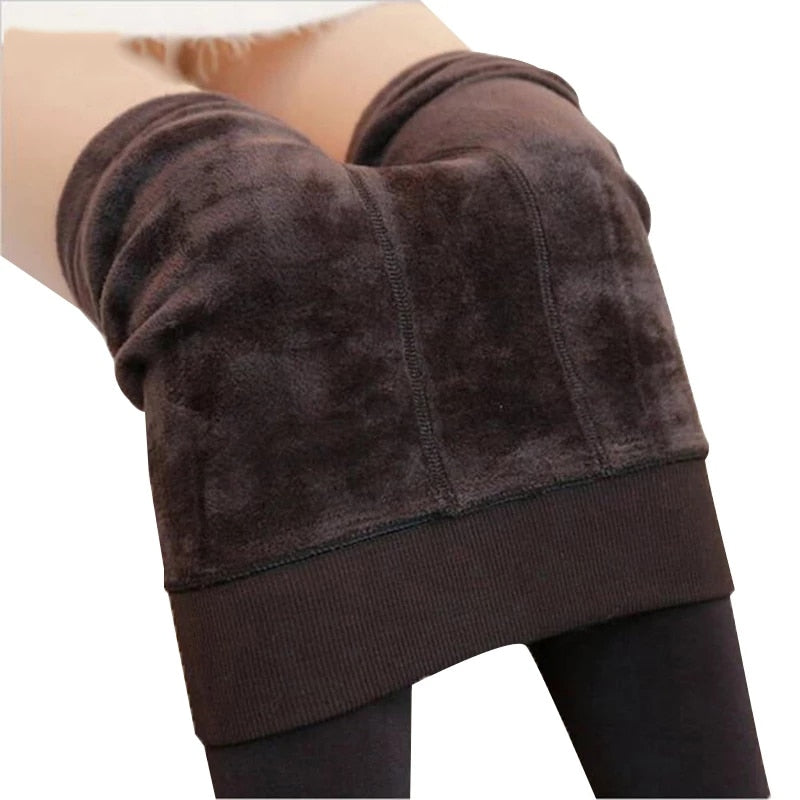 Warm Winter Leggings S-5XL Plus Size  Women Warm Velvet Pants Leggins High Waist Thick Legging Winter Pant Trousers Women Leggin