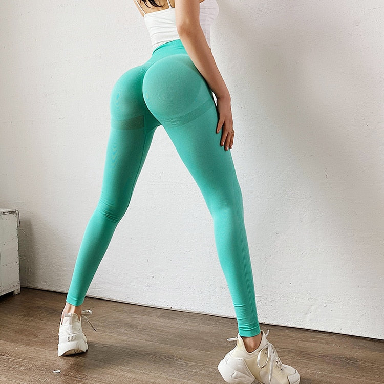 Seamless Legging Yoga Pants Sports Clothing Solid High Waist Full Length Workout Leggings for Fittness Yoga Leggings