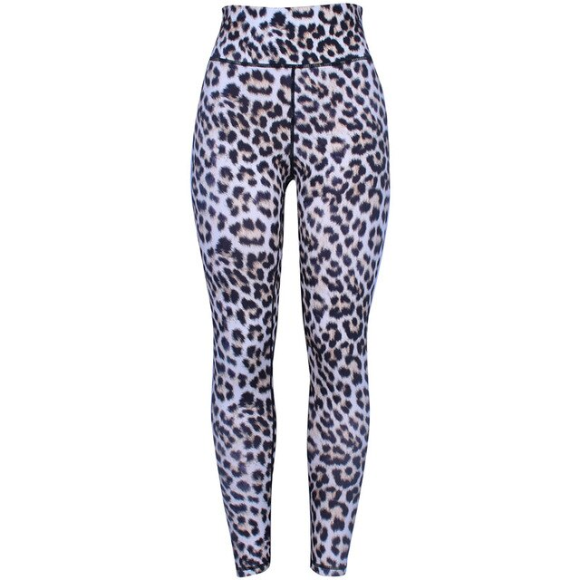 2020 Wind Summer Autumnnew Leopard Print Slim-fit Hip-lifting Soft Yoga Pants Leggings Fashionable Slim Bottoming Pants
