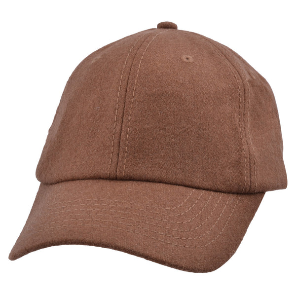 Carbon212 Wool Felt Curved Visor Baseball Cap