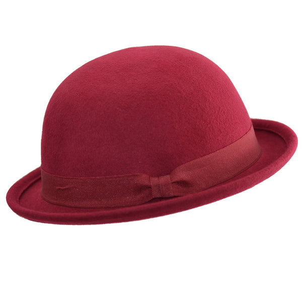Maz Wool Crushable Soft Bowler Hat