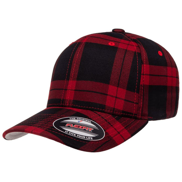 Flexfit® Tartan Plaid Baseball Caps