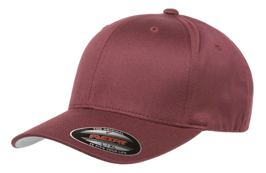 Flexfit Wooly Combed - Maroon