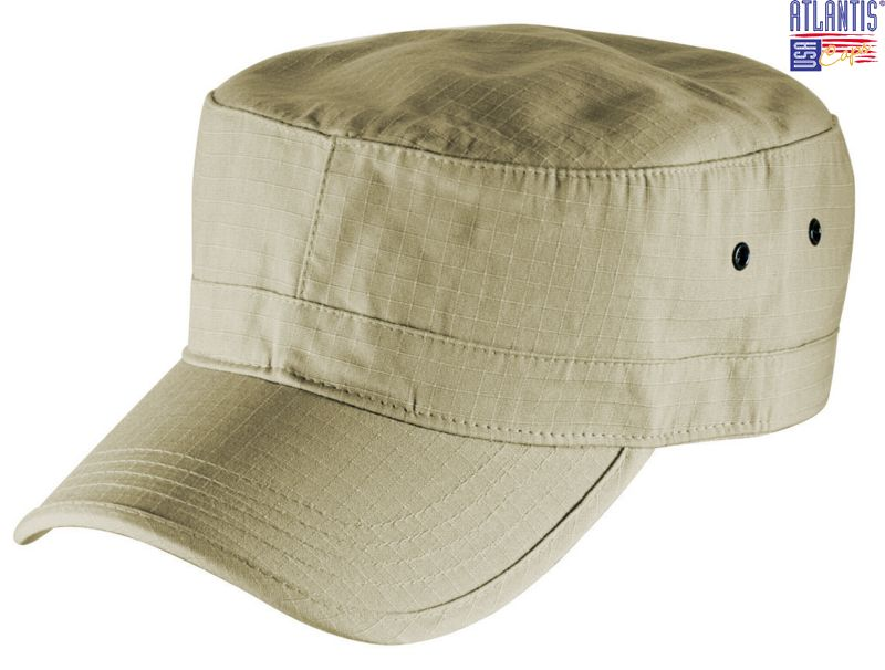 Atlantis  Curved Peak Army Cap