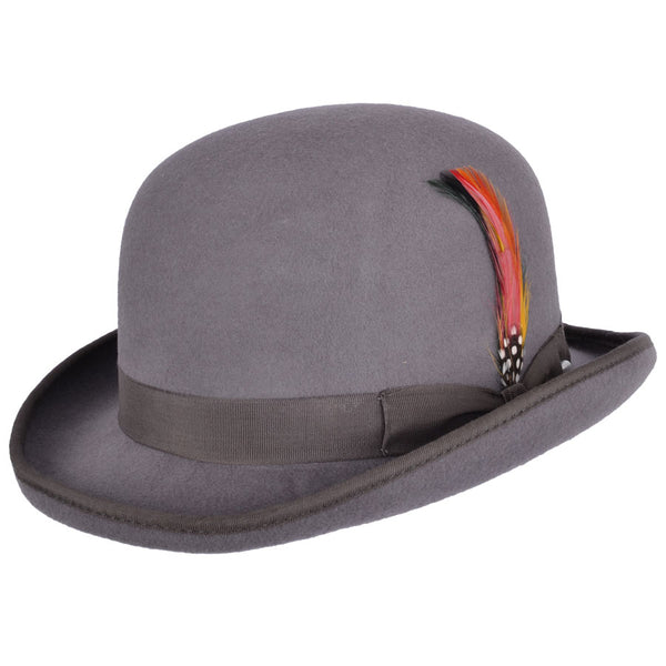 Maz Wool Felt Hard Bowler Hat