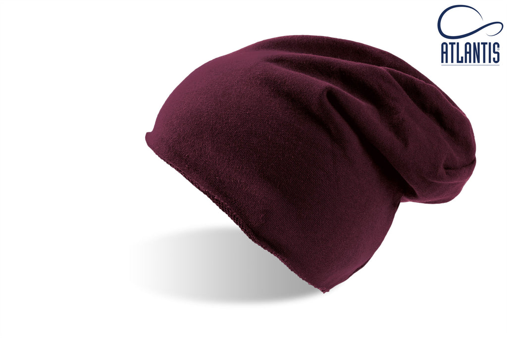 Atlantis Brooklin Soft Beanie Hat - Burgundy