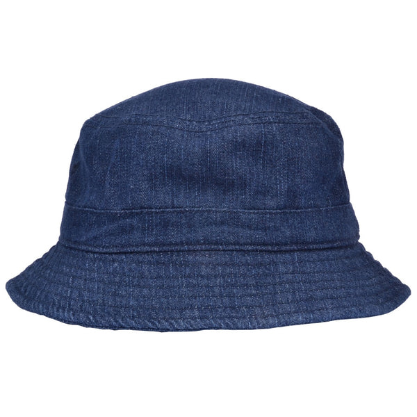 Carbon 212 Denim Bucket Hat - Blue
