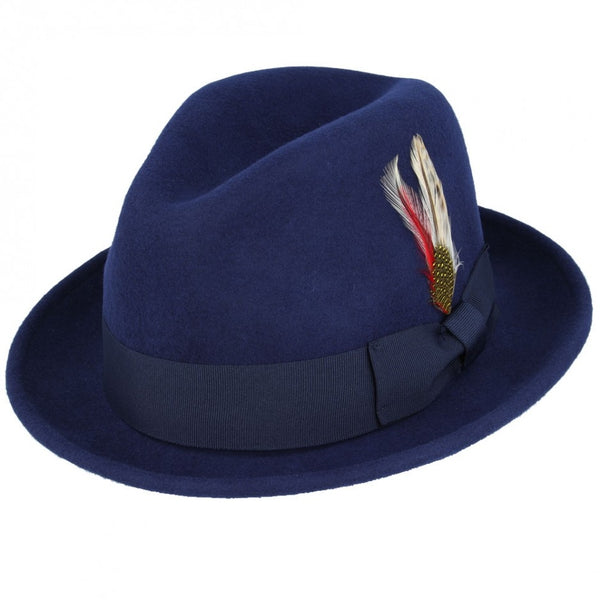 Maz Crushable Wool C-Crown Trilby Hat