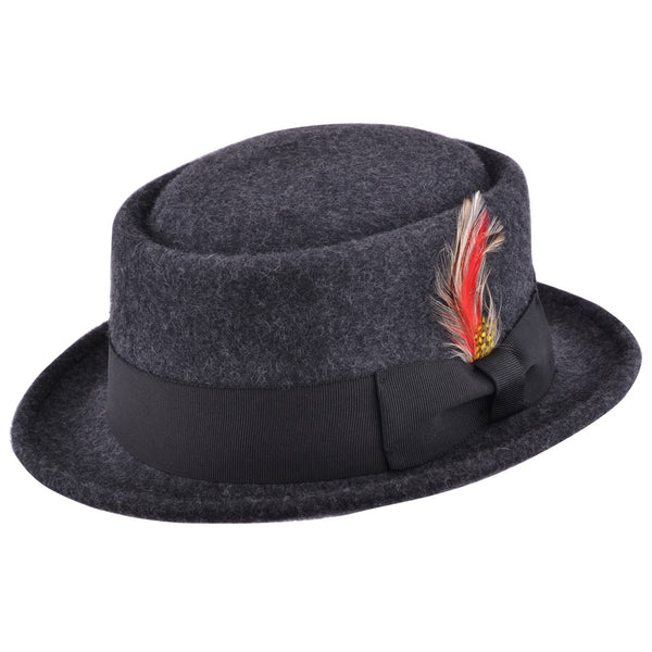 Maz Wool Pork Pie Hat