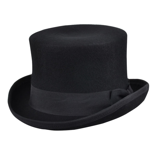 Maz Soft Crushable Wool Felt Top Hat