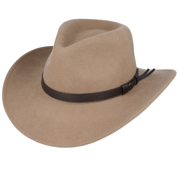 Maz Crushable Wool Outback Cowboy Hat