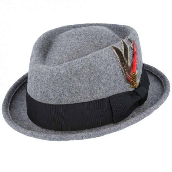 Maz Diamond Crown Pork Pie Hat