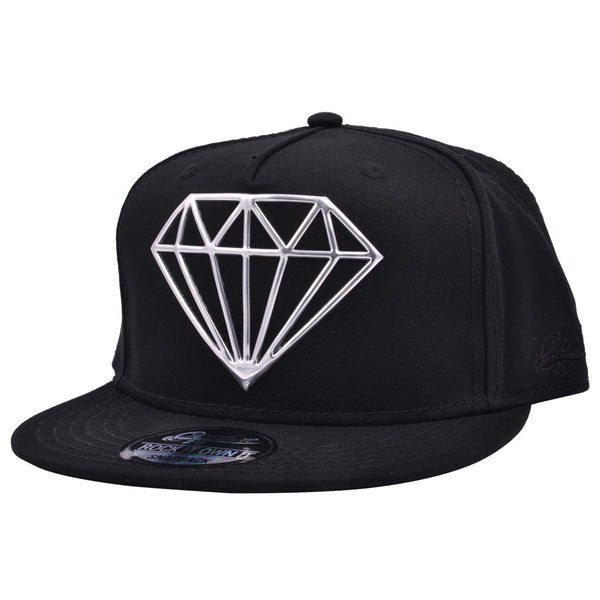 Carbon212 Hotpress Diamond Snapback Cap
