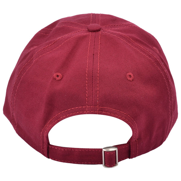 Carbon212 Curved Visor Baseball Caps - Burgundy
