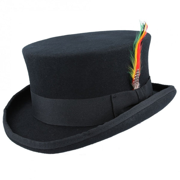 Maz Wool Dressage Top Hat - Black