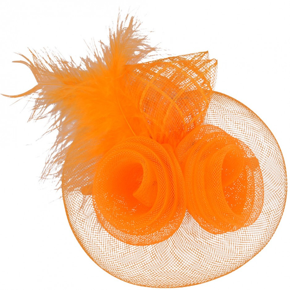 Maz Vintage Fascinator With Elegant Feather