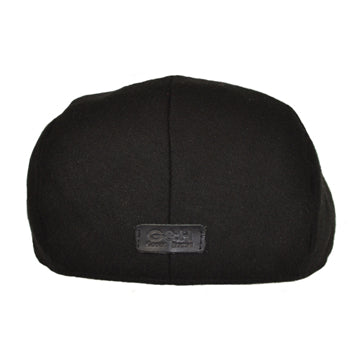 G&h Wool Flat Cap - Black