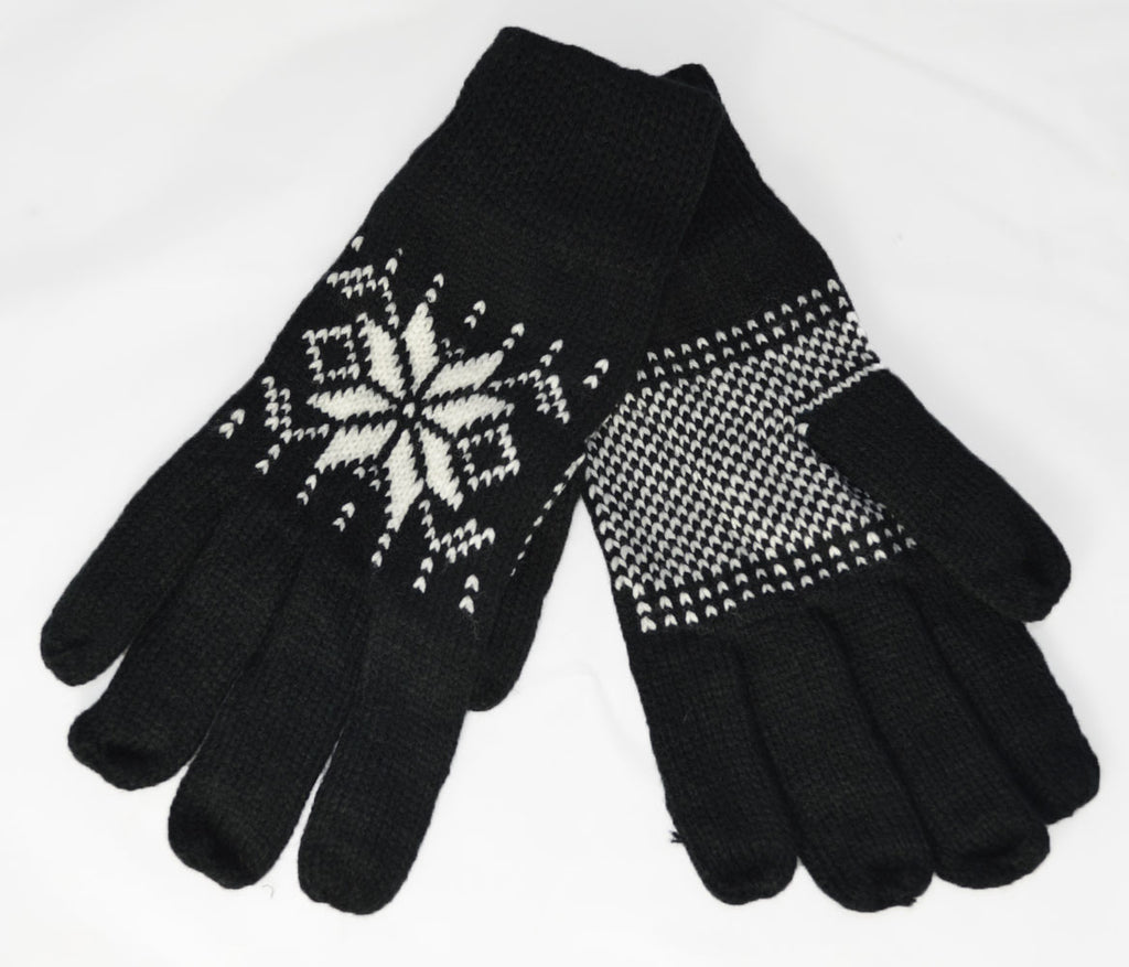 Winter Hand Warmer Gloves - Black