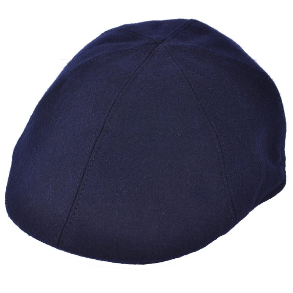 G&H Six Panel Wool Flat Cap