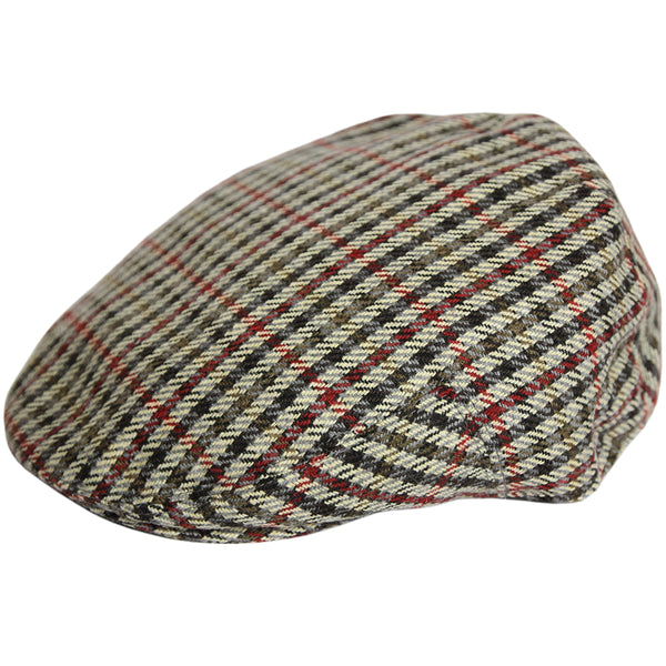 GH Tweed Flat Cap - Multi-Colour