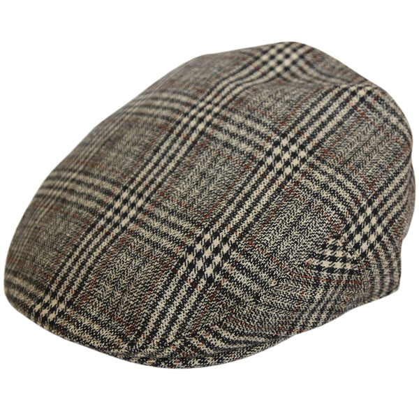 G&H Check Tweed Flat Cap