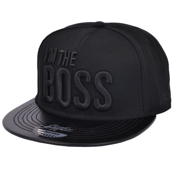 Carbon212 I'm The Boss Snapback Cap