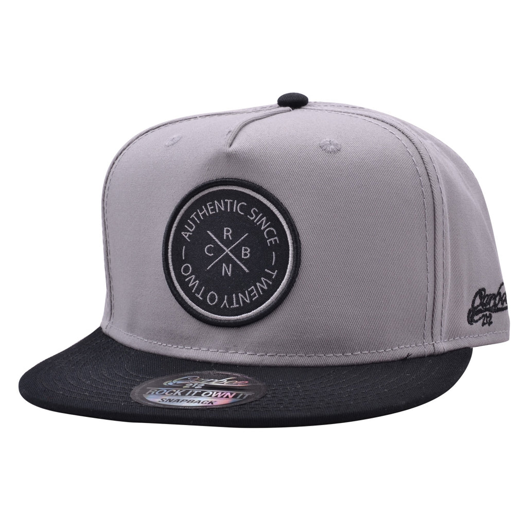 CARBON212 CRBN AUTHENTIC SNAPBACK – GREY