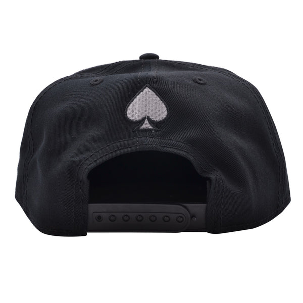 CARBON212 ACE SNAPBACK – BLACK