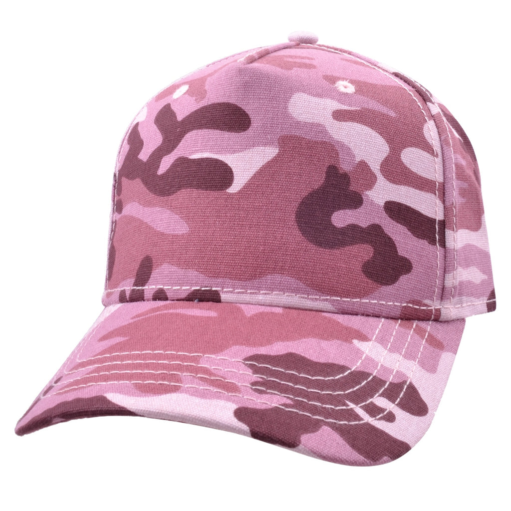 Carbon212 Camouflage Curved Visor Baseball Caps