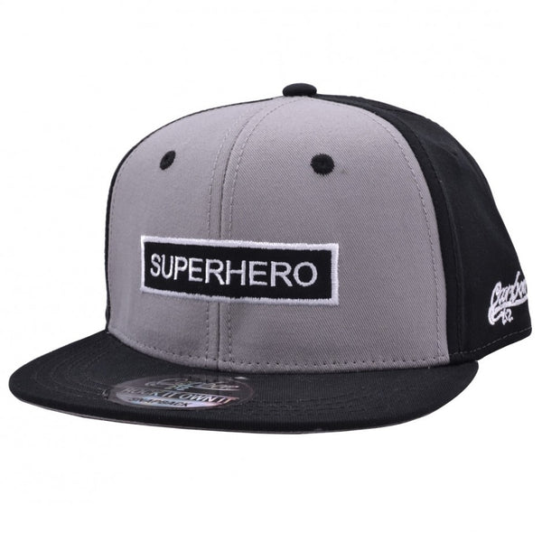 Carbon212 Super Hero Kids Snapback Cap - Black