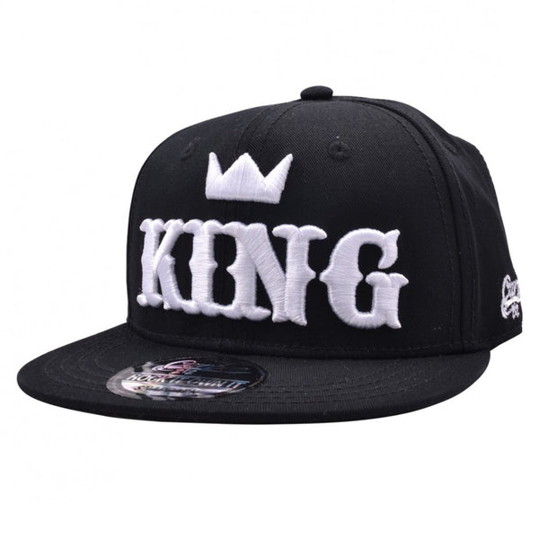 Carbon212 King Kids Snapback Cap - Black