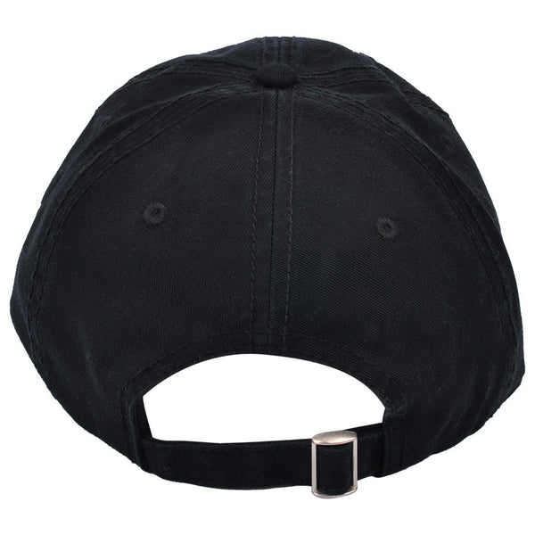 Carbon212 Curved Visor Baseball Caps - Black