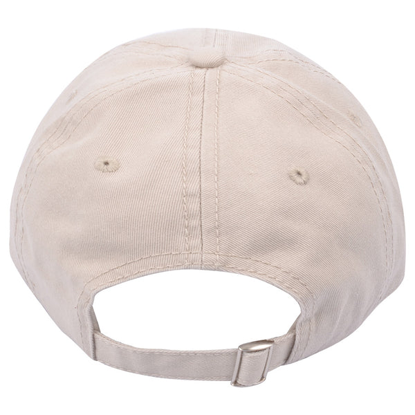 Carbon212 Whats UP Curved Visor Baseball Caps - Stone