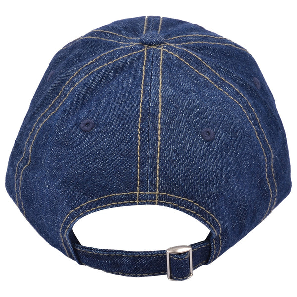 Carbon212 Curved Visor Baseball Caps - Denim
